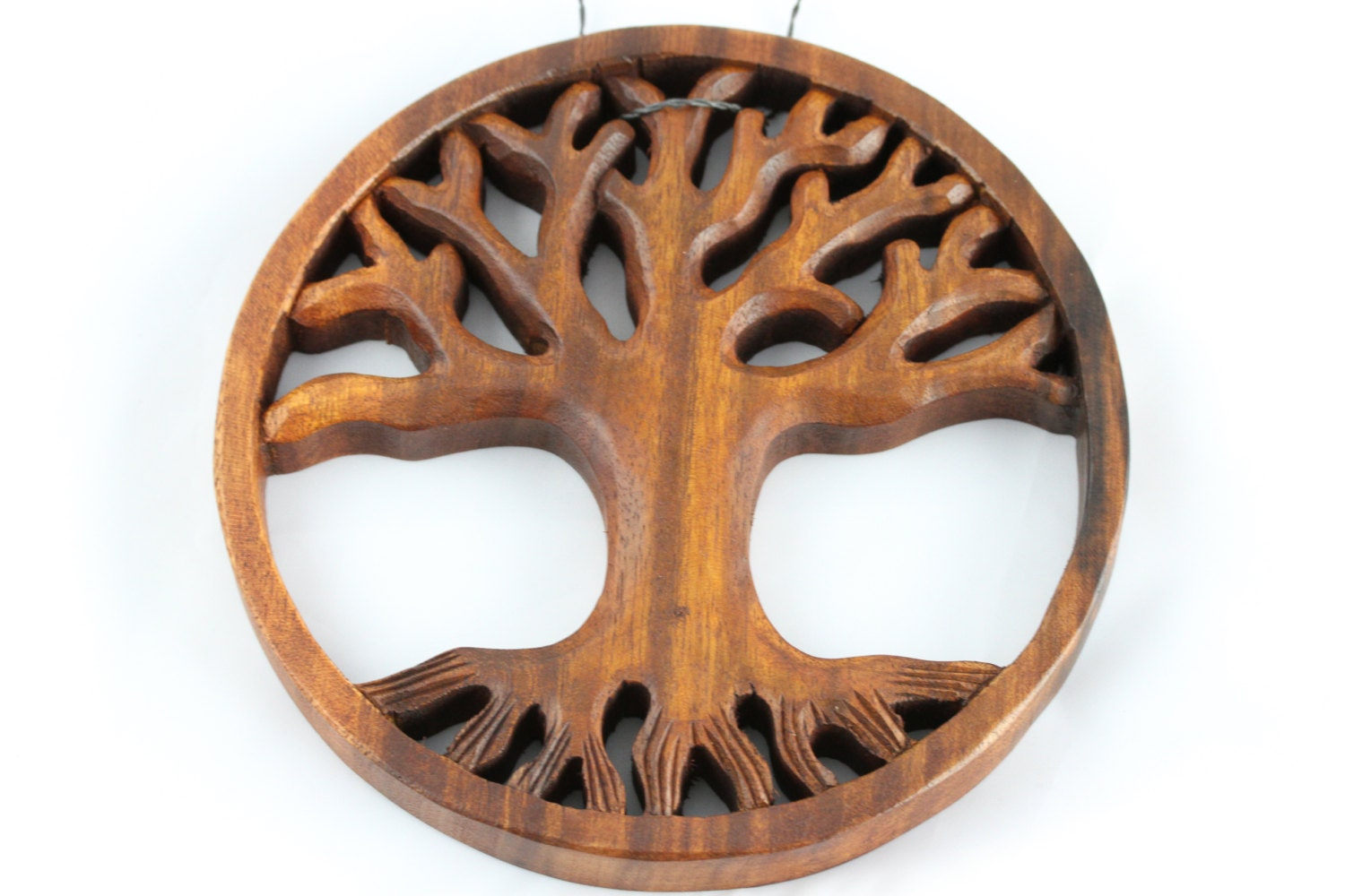 Tree Of Life Wall Hanging Hand Carved Wooden Tree Of Life