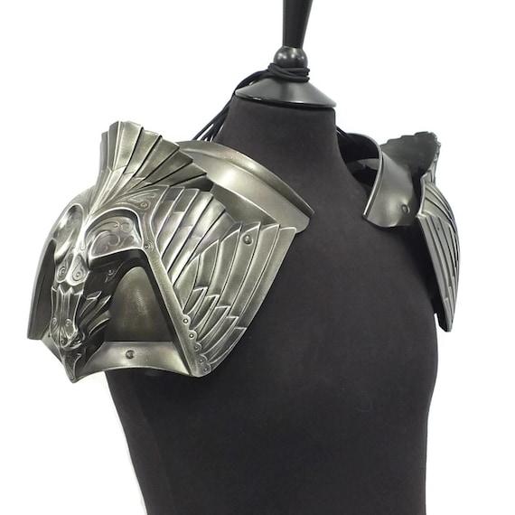 Larp Armor, Fantasy, Eagle pauldrons, shoulder armor, cosplay armor, cosplay armour, Skyrim, TES