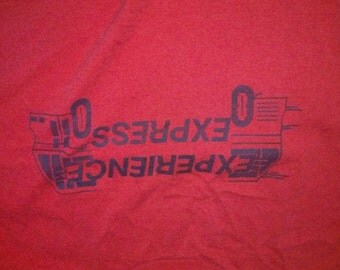 Experience Express Bus T Shirt XL
