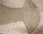 Handmade Adult Mermaid Tail Blanket