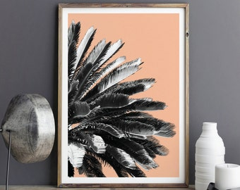 Botanical Print - Palm Tree Print - Botanical Art - Kitchen Wall Art - Large Wall Art Prints