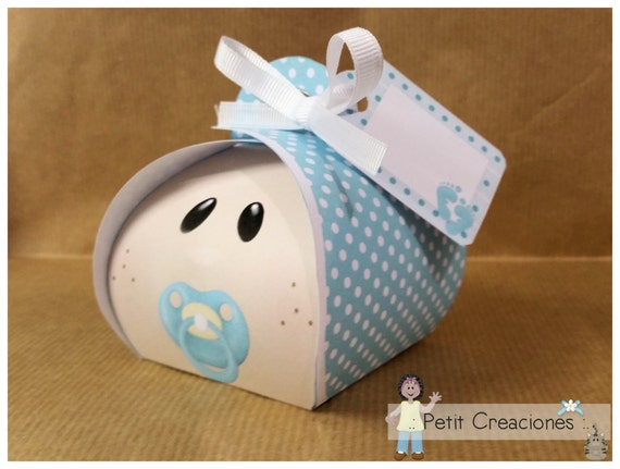 Baby Gift Keepsake Box : Printable curvy keepsake gift box baby boy diy