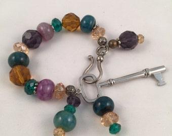 Key Beaded Bracelet