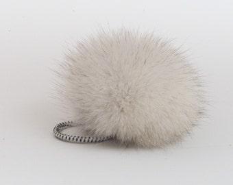 Pompom (pompom) recycled fur