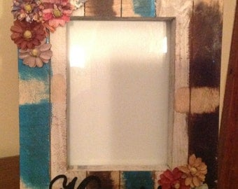Hand Painted Picture Frame