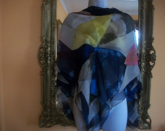 Vince Camuto - Large Silk Scarf