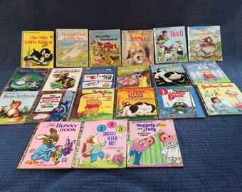 21 Little Golden Books