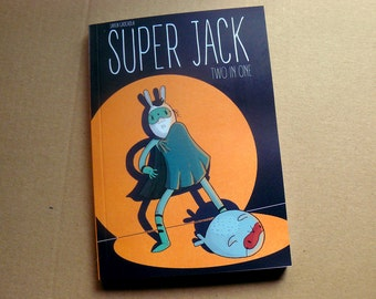 Super Jack - Two in One - comic book