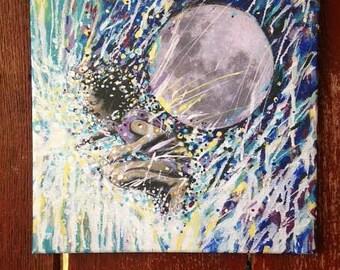 "Infinity 12""x12"" Giclee print on canvas"