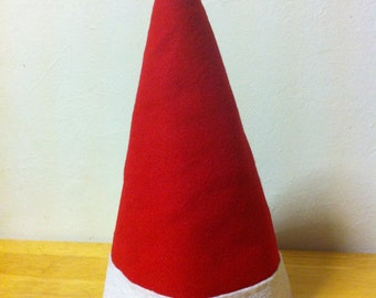 Hand sewn Santa, Elf, holiday HAT