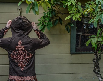Medieval shield hoodie
