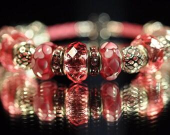 Heartwarming Red ~ Bracelet