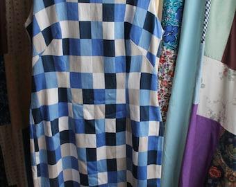 Cotton shift dress size 10 REF 429