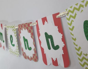Be Merry Christmas Holiday Party Banner