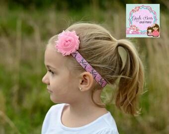Camouflage headband,camouflage headband set,pink camo headband, gift for her,Country headband, pink camouflage, baby gift, cowgirl headband