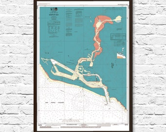 Newport Beach, Newport Beach Map, Orange County, Orange County Map, Coastal Print, Art, Beach Cottage Decor, Beach House Decor