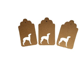 Greyhound Gift Tags