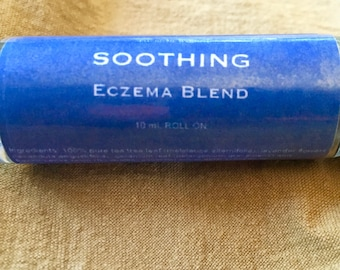 Soothing - Eczema Blend: Moisturizing Relief for Very Dry, Chapped Skin (safe to use on eczema & psoriasis)