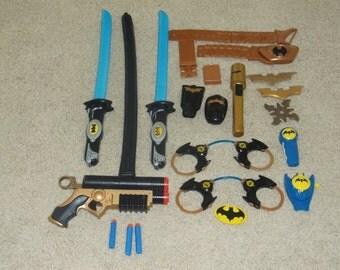 action figures-batman ninja swords-lot of 15-1990s-fair
