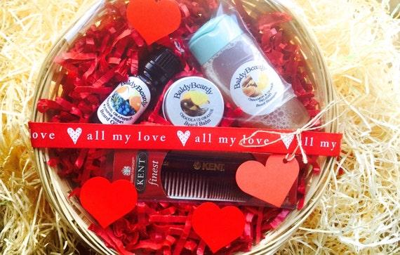 BaldyBeardy Valentine's Day man gift