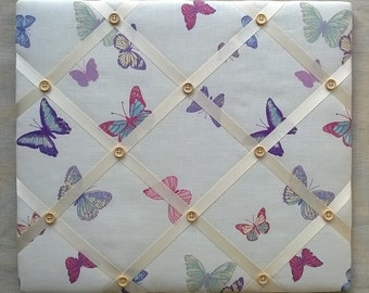 Handmade - Memo/Pin Board in Laura Ashley's Summer Meadow fabric