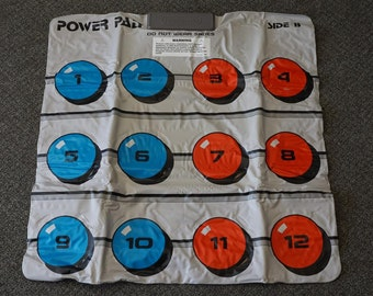 Nintendo Power Pad NES-028 Running Mat Made In Japan C. 1988
