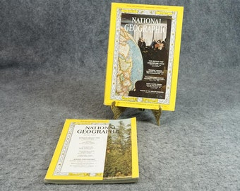 National Geographic Magazine 1964 May & July
