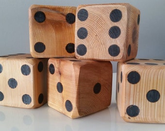 Lawn Dice - Set of 5
