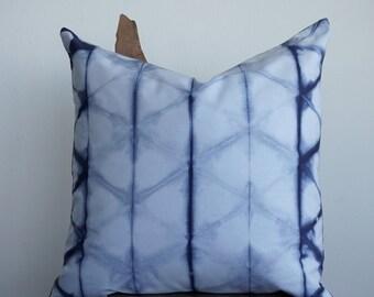Indigo Shibori Pillow Cover