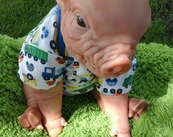 Piglet reborn ooak doll