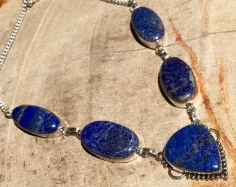 Pretty Lapis lazuli necklace