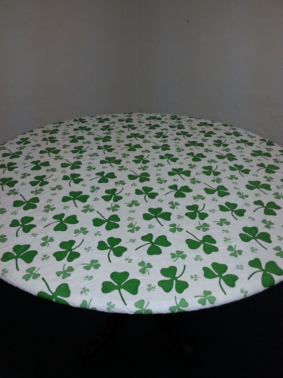 Fitted Tablecover St Patricks Day Decor By
