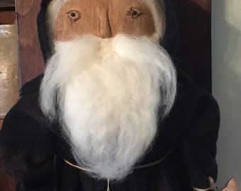 Olden Santa in Black
