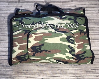 Camouflage Nap Mat with Embroidered Name