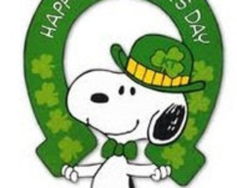 Snoopy Saint Patrick's