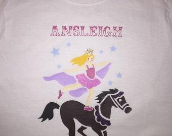 Circus girl shirt