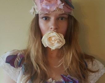 The Zelda Headband ~ Lace & Petals