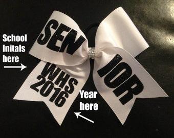 Custom Senior Cheer Bow