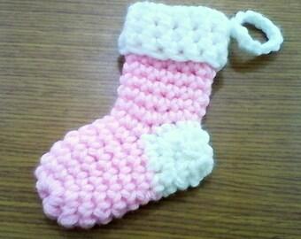 Tiny Crochet Christmas Shocking