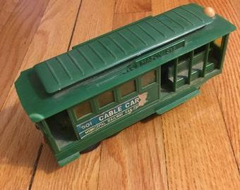 Vintage Toy San Francisco Cable Car Souvenir in good condition