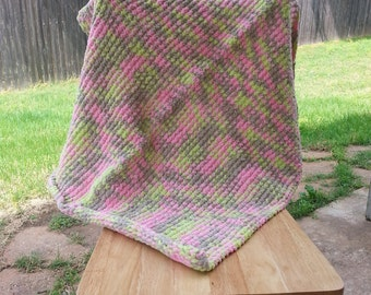 Pretty in Pink Camo Baby Blanket