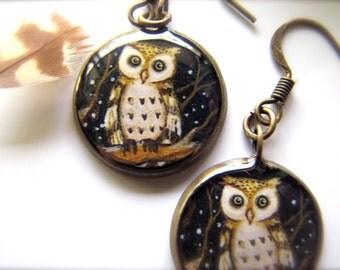 Night Owl; Earrings