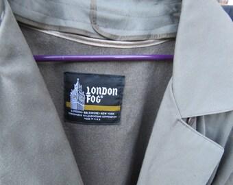 Vintage London Fog coat - size 10 petite