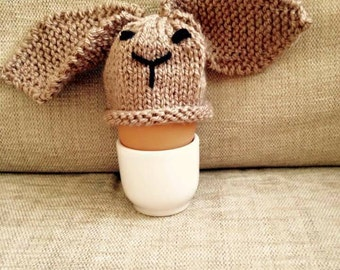 Bunny Egg Cosy Hand Knitted