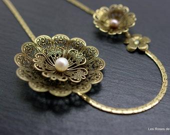 bijoux de tête, head band, fleur, flower art déco