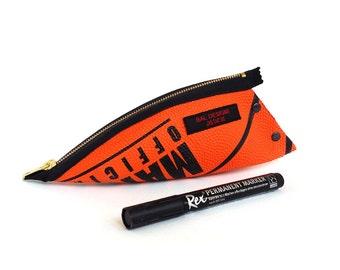 Boys 17, Teen gift, Basketball, pencil pouch orange, gift for him, gift boy 13, sport, teacher gift original, orange, fancy, pencil case