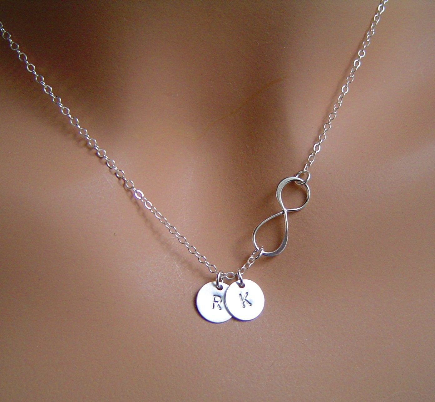 necklace personalized infinity necklace infinity charm pendant