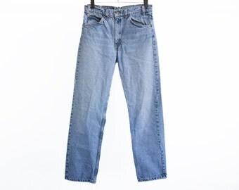 Size 31 505 Vintage Levis, 31 Vintage 505 Levis, Waist Size 31 Vintage Jeans, Levi Jeans, Levis 505, Levis Size 31, Levis 505 Size 31