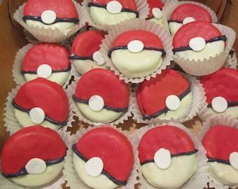 24 Pokemon chocolates dipped oreo cookies