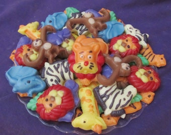 Jungle  Animals chocolates candy tray